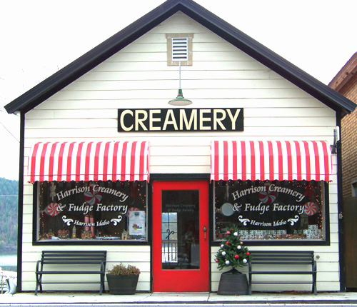 Harrison Creamery and Fudge Factory, Harrison ID