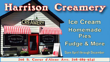 Harrison Creamery & Fudge Factory, Harrison ID