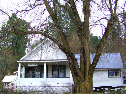 The Crane House Museum in Harrison Idaho