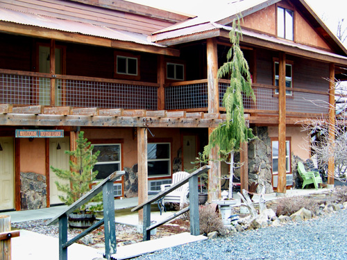 The Lakeview Lodge in Harrison, Idaho